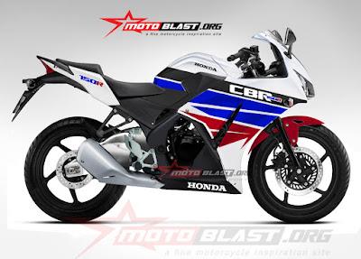 modifikasi Honda CBR 150 lokal