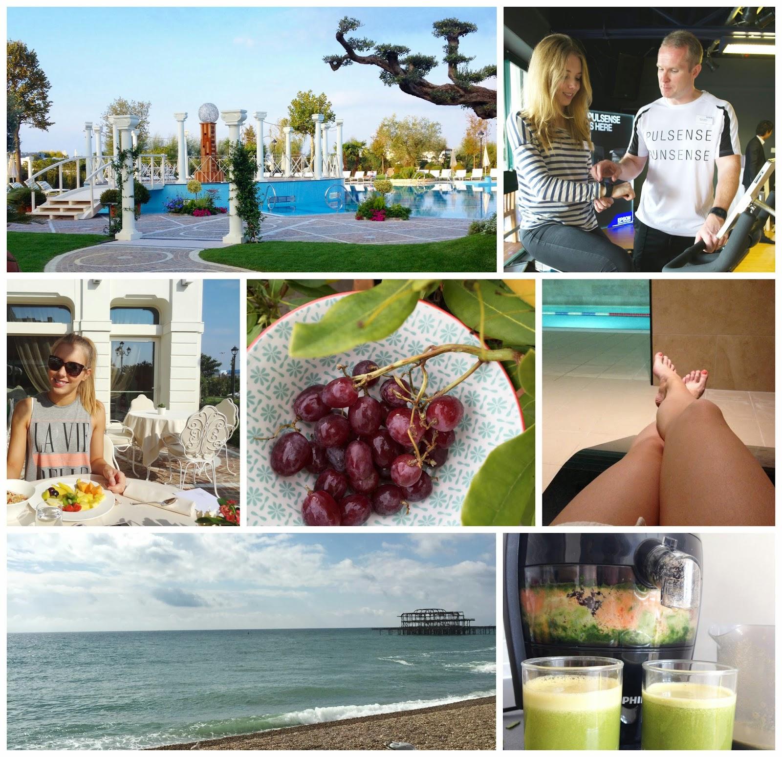 September Delights Blonde Girl Beach Fitness Health Juice Fruit