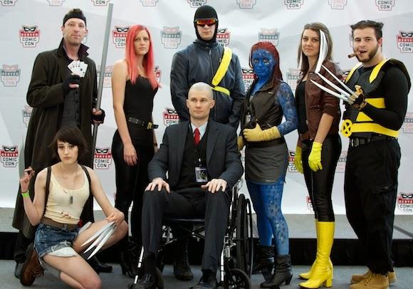 X-Men Cosplay at Denver Comic Con, 2014