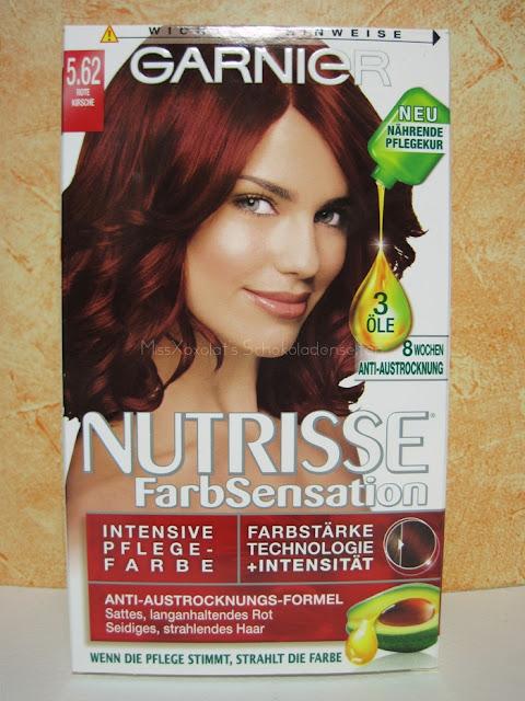 Garnier Nutrisse FarbSensation 5.62 Rote Kirsche