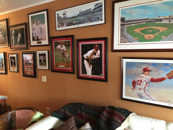 Ron's Phillies' Wall