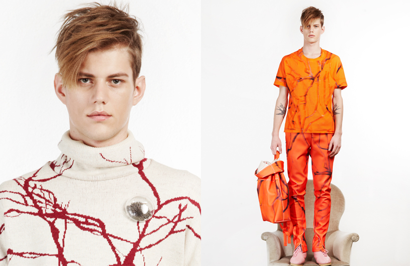 Happy Tears AW '13 collection by Julian Zigerli, Excellent Swiss Design