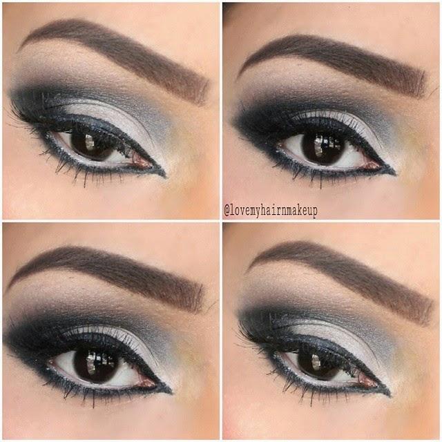 Makeup Lookbook, Smokey eyes for Indian woman