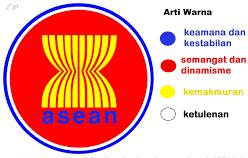 Daftar nama 10 negara negara yang tergabung sebagai anggota ASEAN  atau Perbara