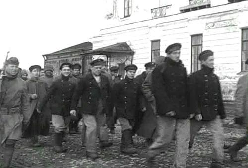 La flotte de la baltique était gagné par les idées anarchistes ou