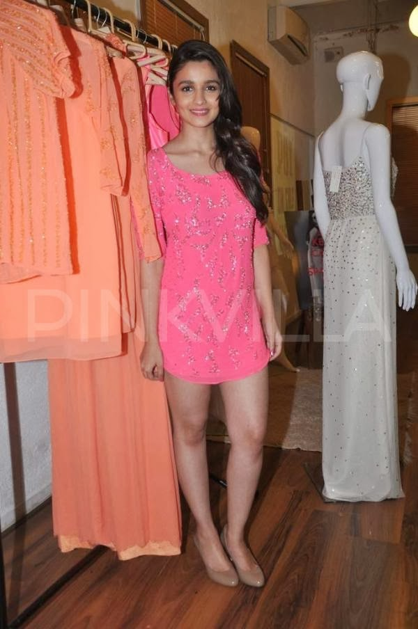 Alia Bhatt at Natasha Dalal's label launch