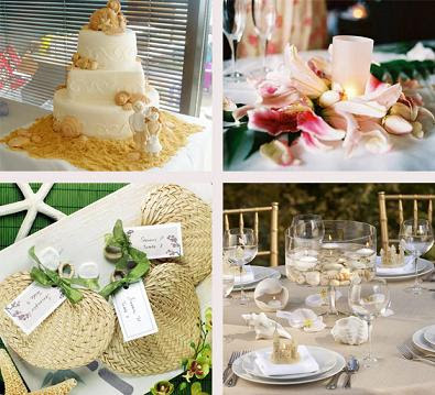 Wedding Preparation: Beach Wedding Decorations