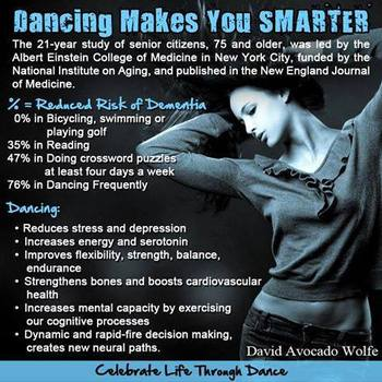 The Benefits of Dancing for ALL Ages!
