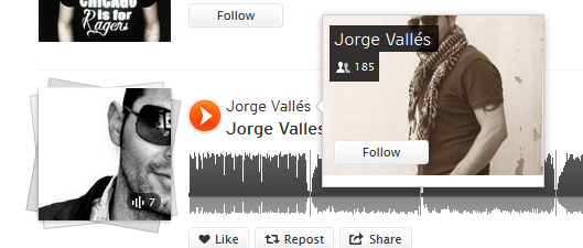 seguir artista soundcloud