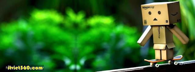 Ảnh bìa cho Facebook Danbo đáng yêu - Cover FB timeline