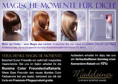 Farben von Wella bei Madeleines
