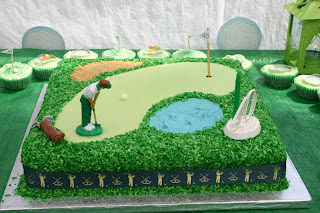 Golf Club In Layer Cake