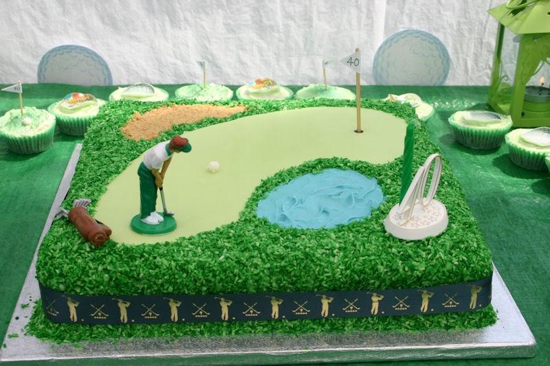 Flour Power Cake Journey: Golf Themed Cake