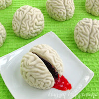 Cake Ball Brains by Hungry Happenings