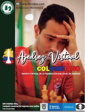 Revista: Ajedrez Virtual Colombiana Edición Nro.5 (Dar clic a la imagen)