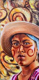 Rostro de Mestiza Wayúu