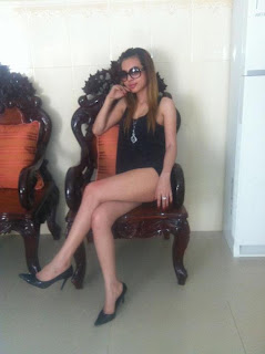 Votey Teav Cambodian Facebook Girl Sexy Thigh 8