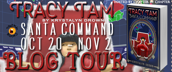 Tracy Tam Santa Command Blog Tour