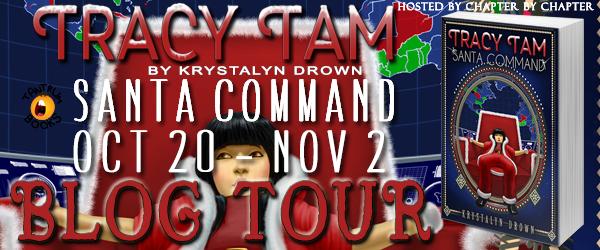 Tracy Tam Santa Command Blog Tour