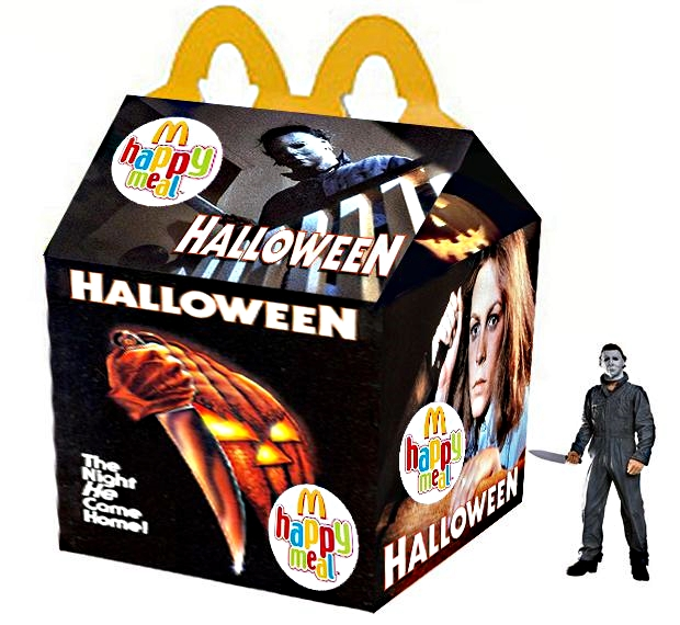 The Horrors of Halloween: McDonalds HALLOWEEN (1978) Happy Meal