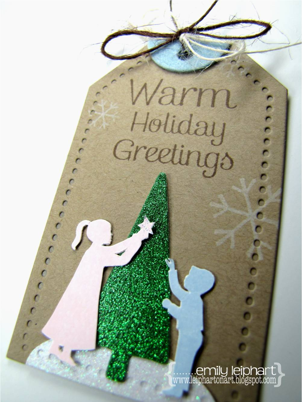 Artfromtheheart warm holiday greetings to create this tag i first stamped the kids from warm holiday greetings in pink and blue and painstakingly fussy cut them i had thought to myself that i kristyandbryce Gallery