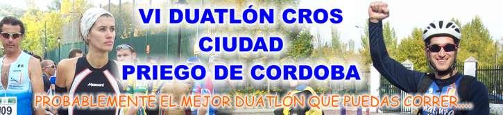 VI Duatlón Cros Ciudad Priego de Córdoba