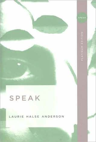 Speak book cover