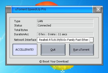 how to increase the download speed in utorrent