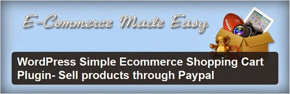 WordPress Simple ecommerce through PayPal