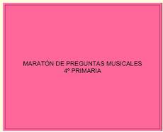 4º. MARATÓN DE PREGUNTAS