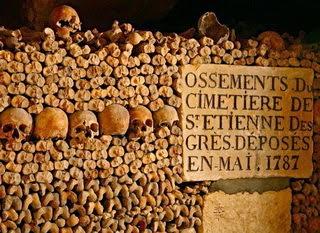 makam katakombe di Paris