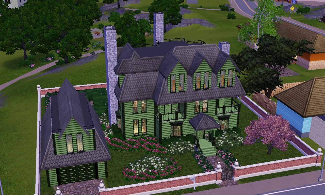 Best Of 23 Images Sims 3 Best House Ever Home Plans