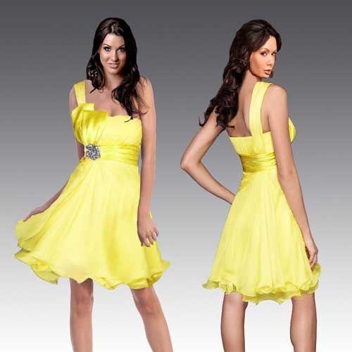 Yellow Bridesmaid Dress In 27 Dresses 61