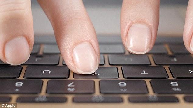 η πληκτρολόγηση στο Macbook 12 είναι πιο ακριβή και σταθερή