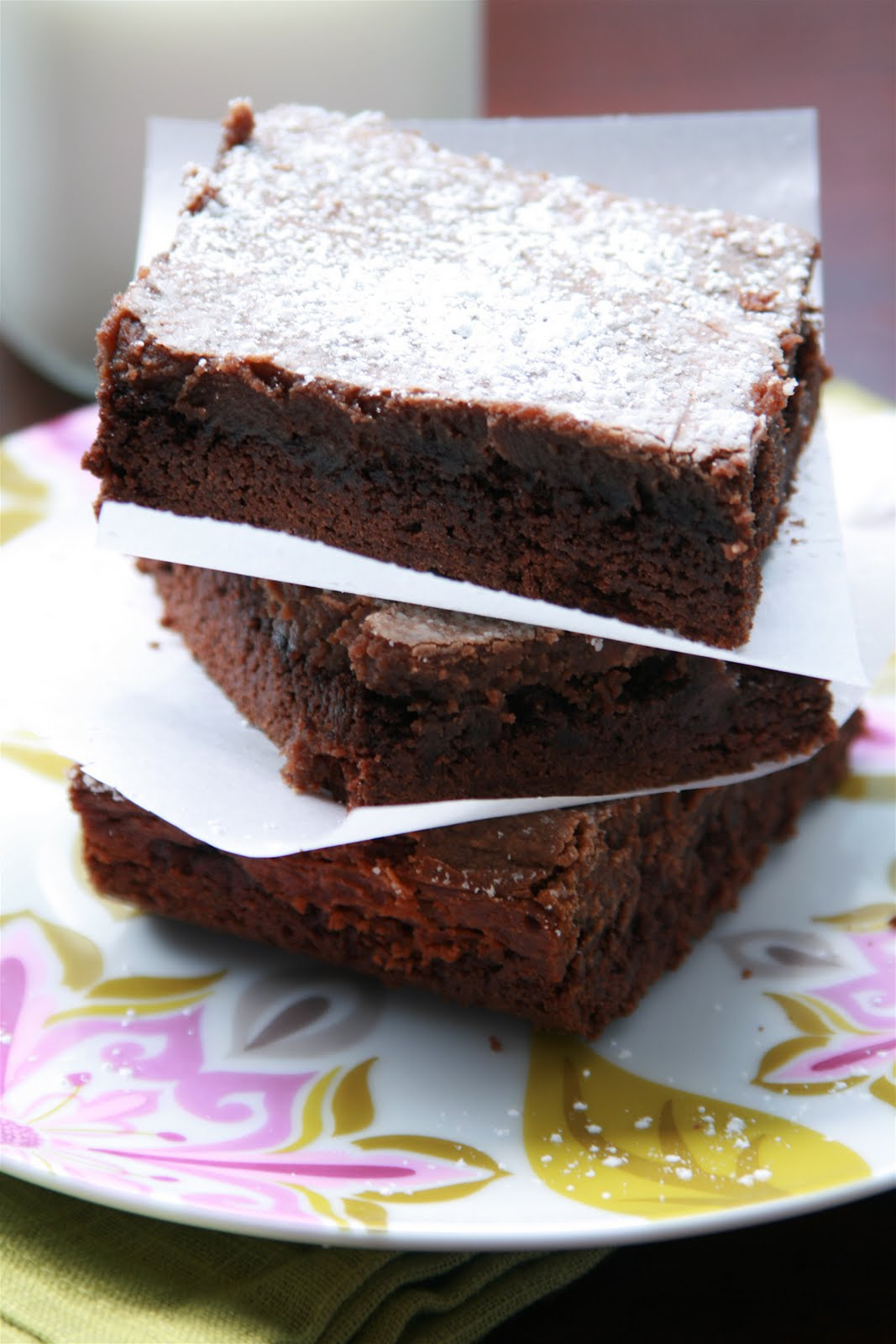 how to make gooey brownies from the box