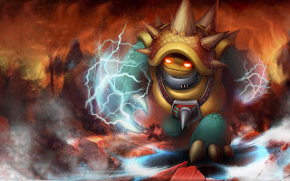 Rammus League of Legends Champion Video Game HD Wallpaper Desktop PC Background 1297