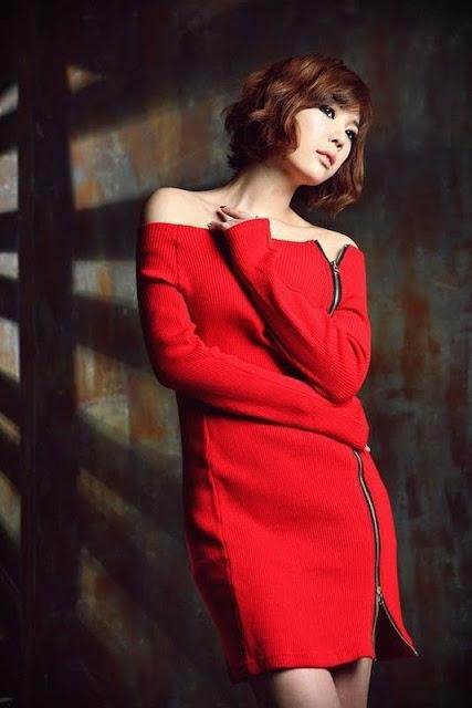 Korean Model Kim In Ae