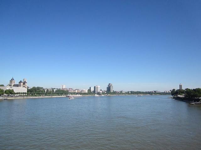 crossing bridge Rhine Cologne Koln view beautiful city things to do