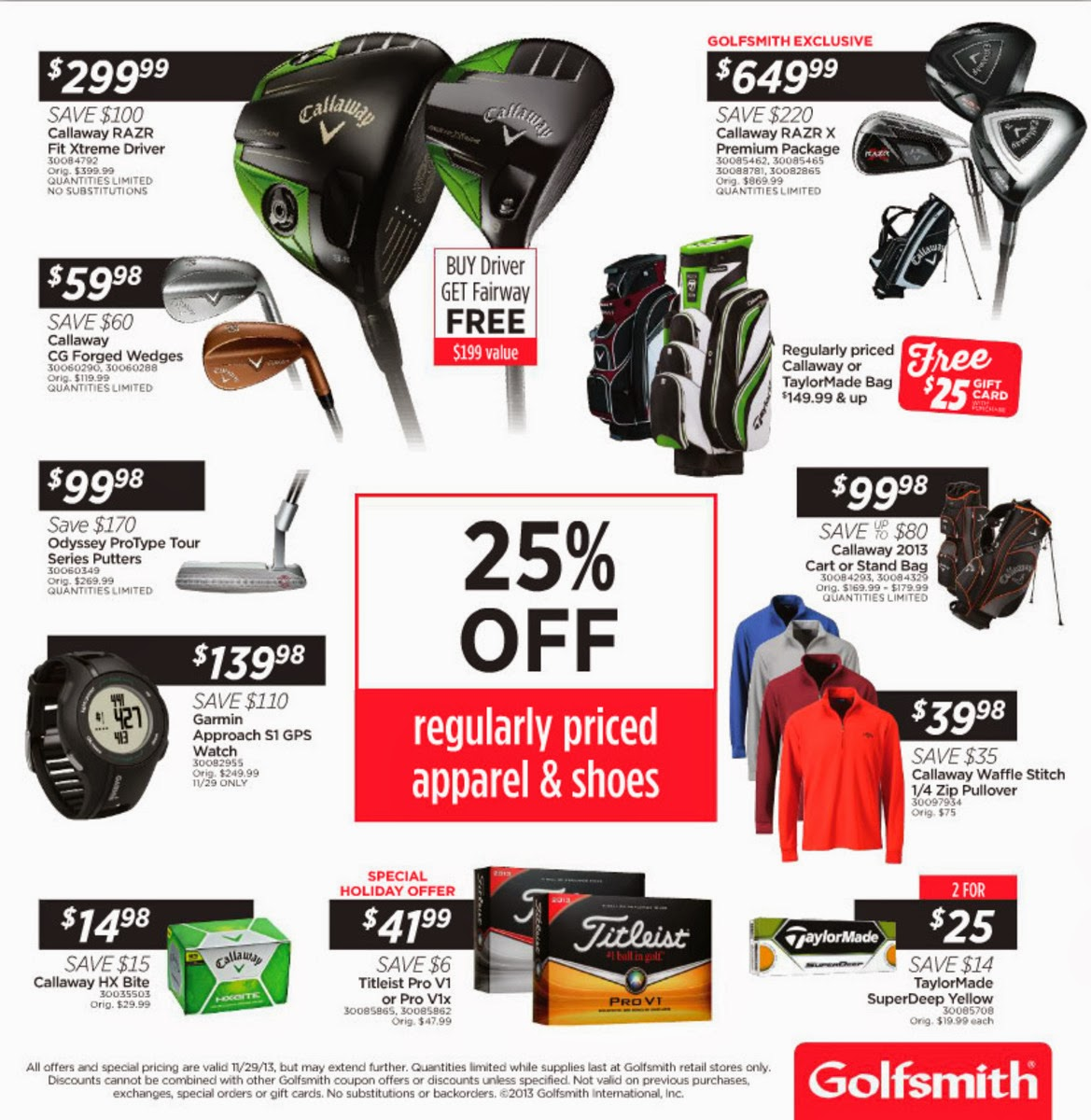 Golfsmith Black Friday Ad 2013   Black Friday Ads 2013