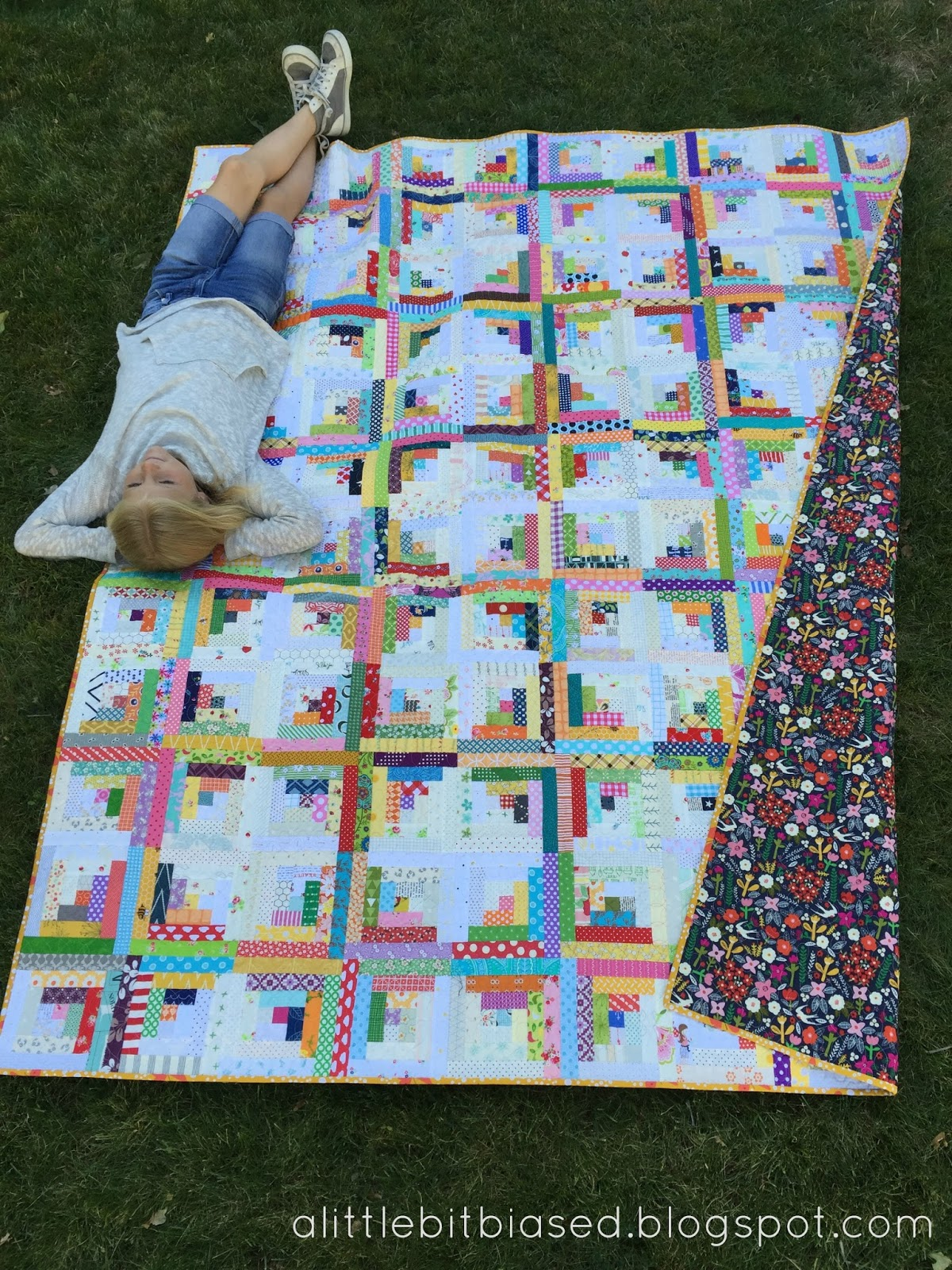 Gigi 39 s thimble scrap quilt challenge my scrappy log for Quilting templates free online