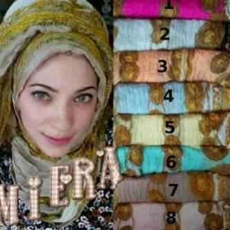 Jual Jilbab Cantik Pashmina Kusut Murah