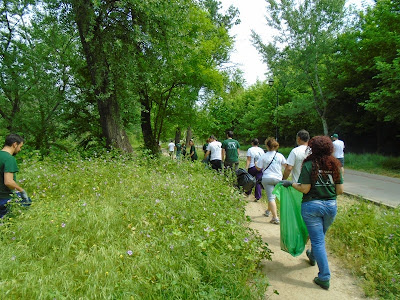 Νεα Ακροπολη Λάρισας και Εθελοντισμός - Let's clean up Europe