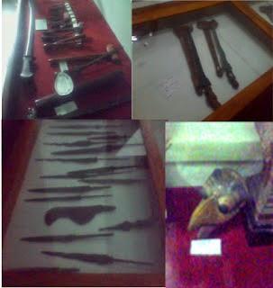 Koleksi museum Blambangan di Banyuwangi.
