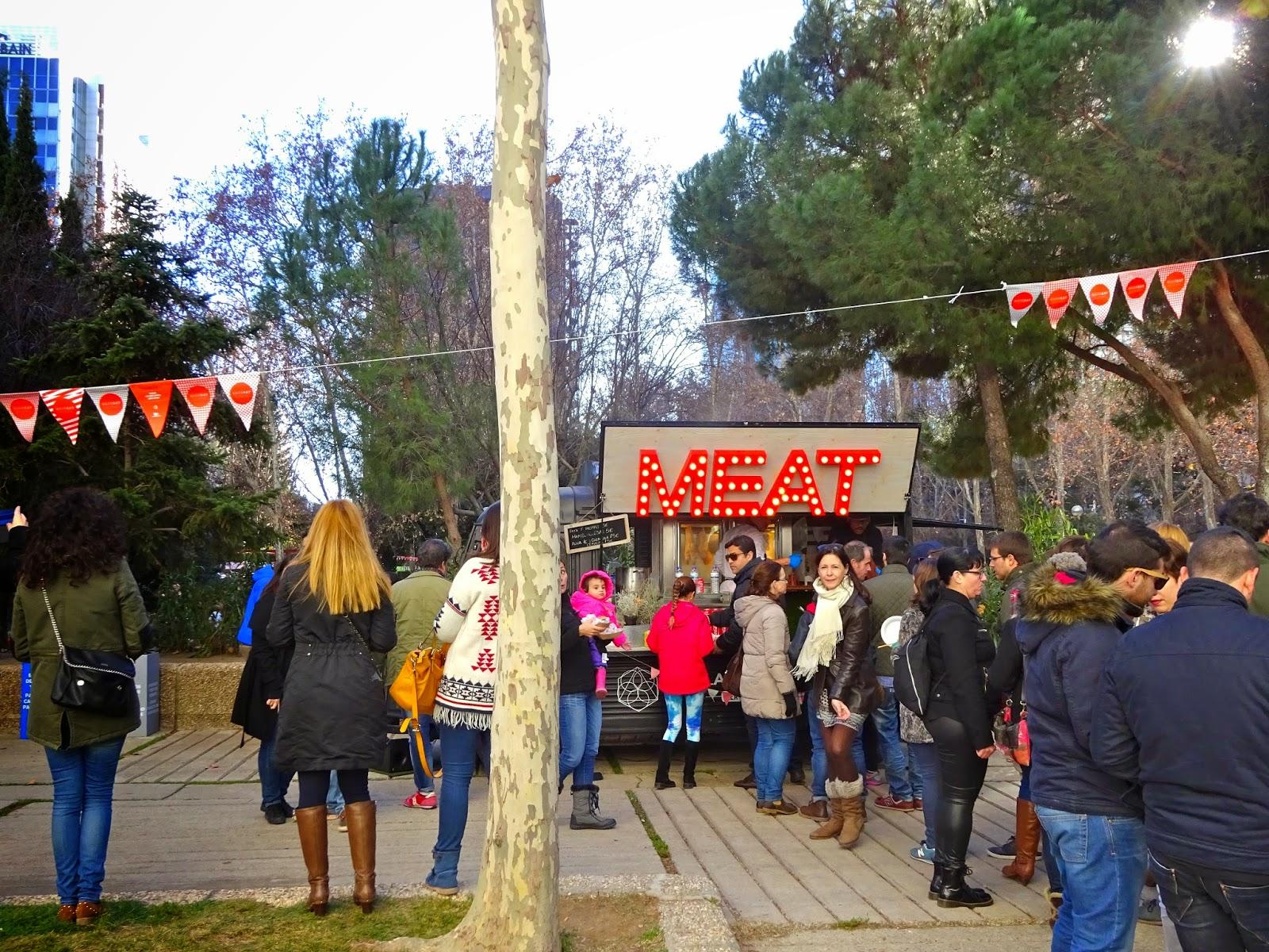 MadrEat Market Caravan Azca Foodtruck Madrid Gastronomía Gourmet