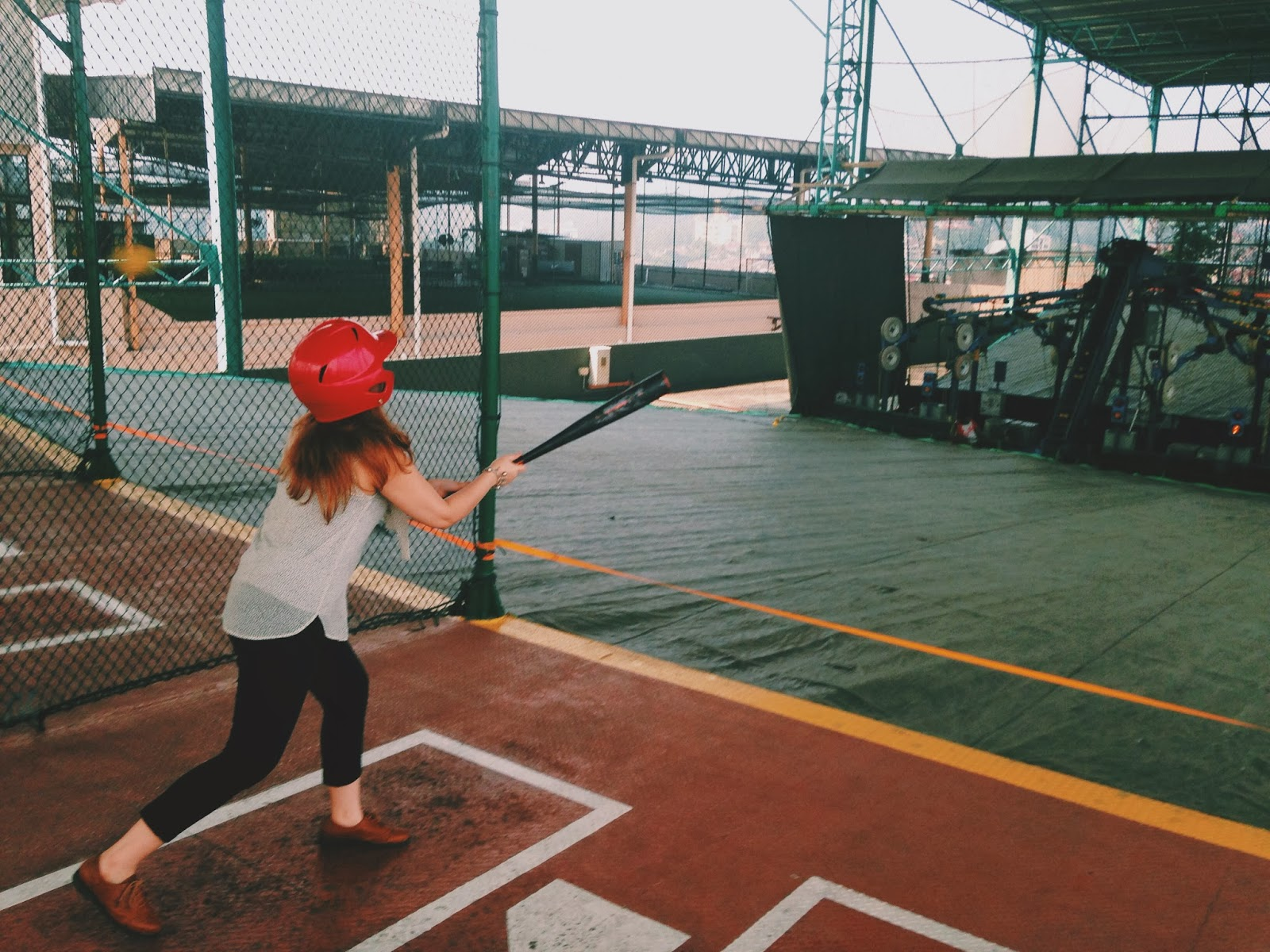 Image result for kid Play ball at It's a Hit! Batting Cages