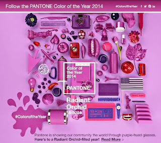 Pantone, Radiant Orchid, color trend