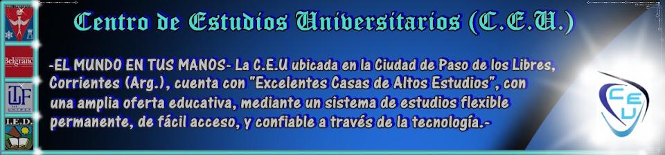 Centro de Estudios Universitarios (C.E.U.)