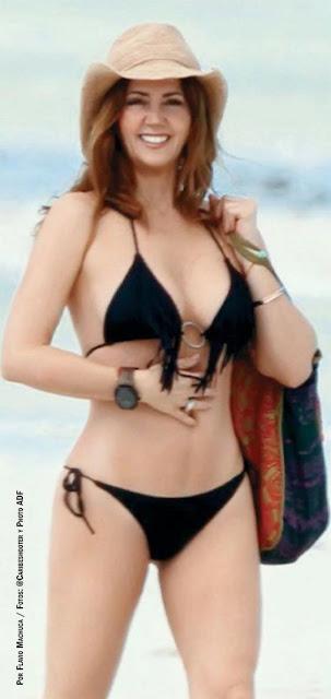 Andrea Legarreta Bikini Tvnotas Enero 2016