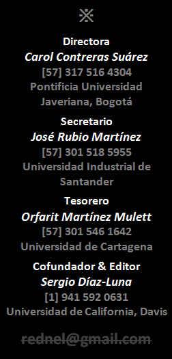 Contacto REDNEL Colombia: