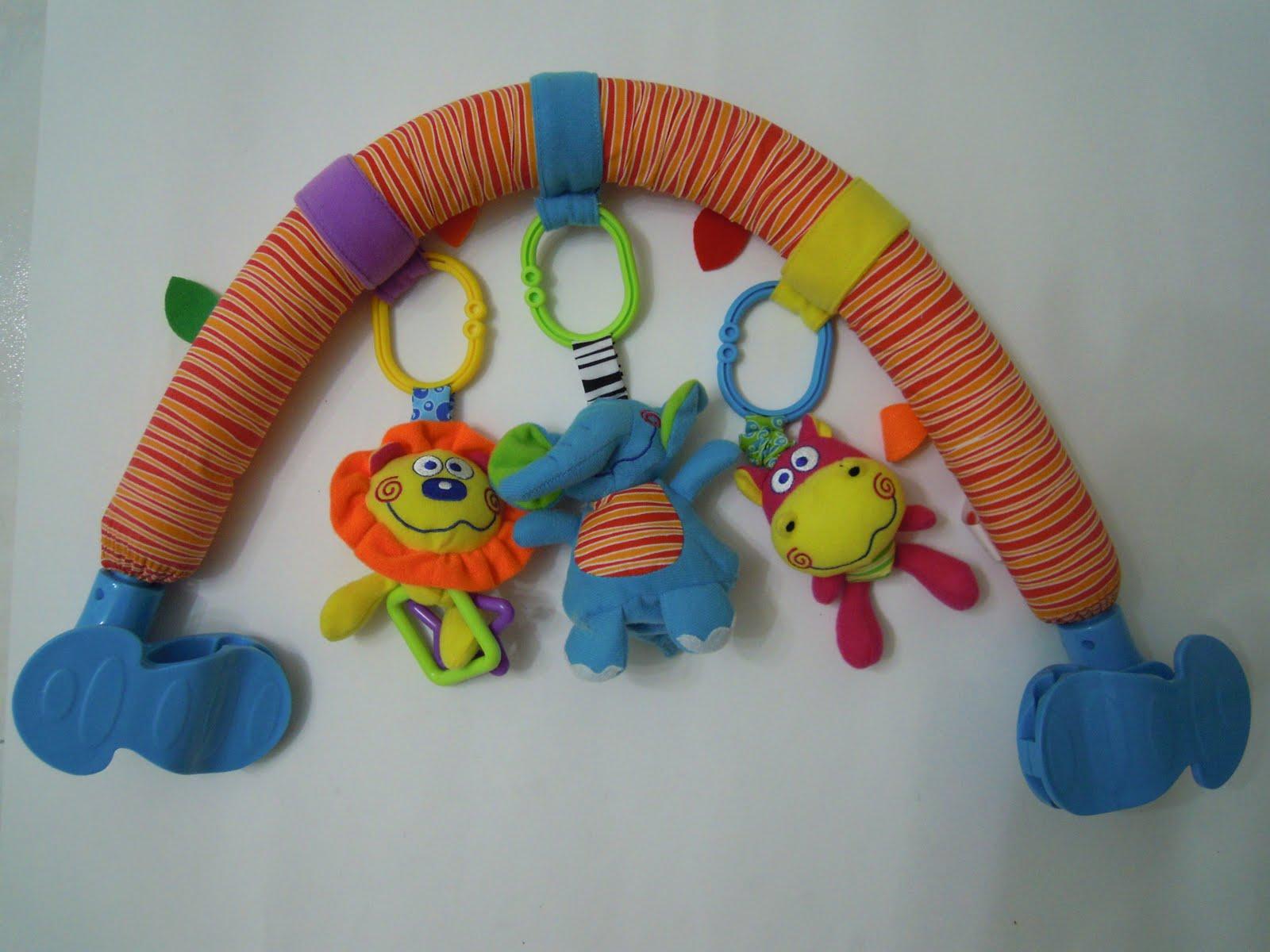 dimple pram toys